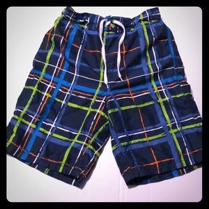 Boys size 7/8 swim shorts by the children's place